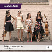Quatuore Zaïde - nouvel album disponible